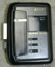 Aiwa Hs-G15 Stereo Cassette Player Super Bass For Parts Not Working