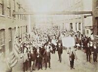ORIGINAL - TEDDY ROOSEVELT POLITICAL CAMPAIGN c1912 CABINET CARD PHOTOGRAPH