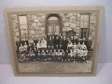 1920 BELMONT SCHOOL Photograph PHILADELPHIA PA Jacob H. Sides PLAQUE GRADUATING