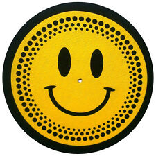 Slipmats Technics DMC Smiley Platter (1 pièce / 1 pièce) mhappy1 NEUF