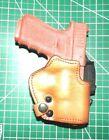 Front Line LKC18-BR BFL RH Leather Kydex Belt Holster Suede Lined Glock 19 23 32