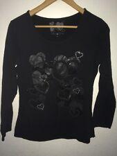 Cache Cache Jersey Top T Shirt Size 4 Chest 36