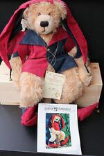 original Hermann Coburg Teddy 48 cm  mit Anhänger und Zetifikat ein Traumbär TOP