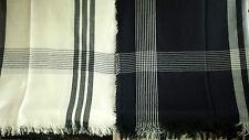Joblot 12 pcs géométrique de carrés design foulard gros 200x100 cm lot 26