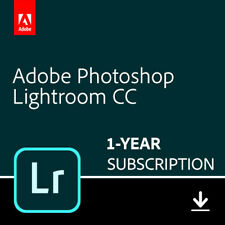 Adobe - Photoshop Lightroom CC - 1 Year - Digital Delivery