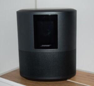 Bose Home Speaker 500 in schwarz  - mit Alexa Sprachsteuerung