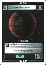 STAR TREK CCG WHITE BORDER PREMIERE 1995 BETA RARE CARD EXTRACTION