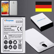 8000mAh Wiedereinbau Batterie Für Samsung Galaxie Anmerkung 3 N9005 + White Fall