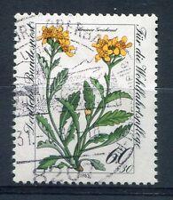 ALLEMAGNE FEDERALE, 1983, timbre 1021, FLEURS, SENECIO CARNIOLICUS, oblitéré