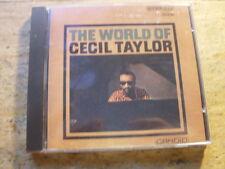 Cecil Taylor - World of Cecil Taylor [CD Album] 1960