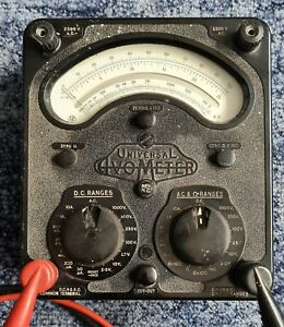 Avometer Model 8 Mark IV Multimeter with Measuring Leads Working