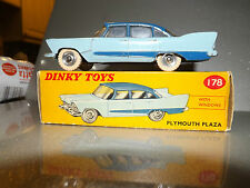 DINKY TOYS Model 178 - Plymouth Plaza very near mint in correct spot Box