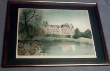 CLAUDE C. GROSPERRIN 'THE CASTEL' HANDSIGNED LITHOGRAPH # 202/275
