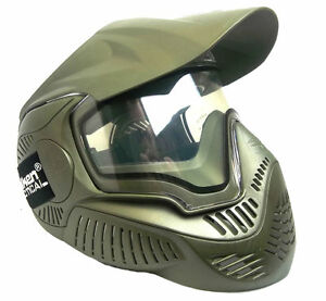 Valken Annex MI-7 Paintball & Airsoft Goggle Mask Olive New
