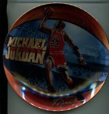 Michael Jordan 1998 6 Time Nba Champion Basketball Plate Upper Deck