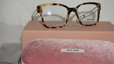 MIU MIU RX Eyeglasses New Light Havana MU 02PV 7S01O1 51 145