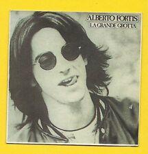 Alberto Fortis Lagrande Grotta #157  Rare LP Album Cover STICKER Card ITALY