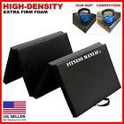 Heavy Duty Folding Mat Thick Foam Fitness Exercise Gymnastics Panel Black 6?x2?