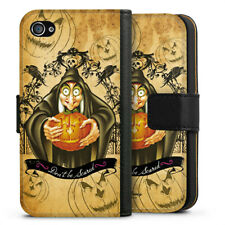 Apple iPhone 4 Tasche Hülle Flip Case - Wicked witch