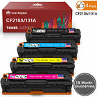 4PK CF210A Toner Cartridge For HP 131A LaserJet Pro 200 M251nw MFP M276nw M251n
