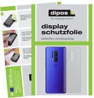6x OnePlus 8 Pro arrière Film de protection d'écran protecteur antireflet dipos