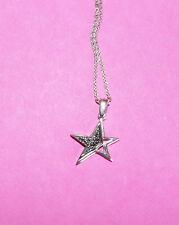 Collier étoile THIERRY MUGLER en acier