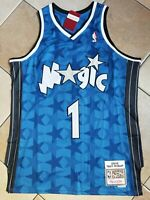 NWT Men's Orlando Magic Tracy McGrady Authentic Mitchell & Ness Blue Throwback L