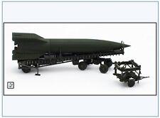 PMA0322 V2-Rakete auf Meillerwagen&Starttisch, grün,PMA 1:72,NEU&