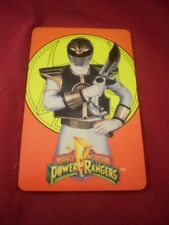 Mighty Morphin Power Rangers ID Card license plastic information wallet 1994