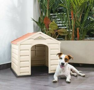 DOG HOUSE / KENNEL For Small Or Medium BREEDS  MADE OF DURABLE RESIN