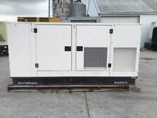 100 Kw Cat Olympian Generator Set Sound Attenuated Year 2005 472 Hours F