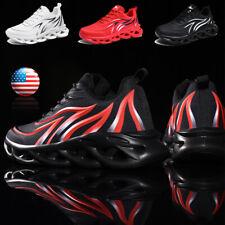 New listing Men's Athletic Walking Running Tennis Shoes Sneakers Soft Bottom Cross Training