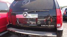2011-14 CADILLAC ESCALADE ESV,EXT BLACK FRONT DRIVER INTERIOR DOOR PANEL OEM