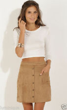 Above Knee Polyester Straight, Pencil Regular Skirts for Women