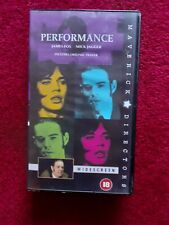 PERFORMANCE VHS  Video Tape