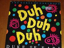 "THE DUKES OF EARLWOOD *RARE 7"" 45 ' DUKE OF EARL ' 1988 VGC"
