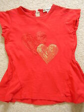 Girls red top,M&S,1.5-3 years,new