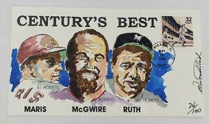 Centurys Best Maris McGwire Wild Horse Cachets HP Event Cover 5/28/98 #74/100