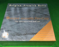 "ARAMITH 2"" REDS & YELLOWS PRO CUP POOL BALLS (AS SEEN ON THE IPA POOL CIRCUIT)"