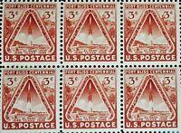 3c Fort Bliss Centennial US Stamp MNH Full Pane  RG1128