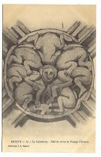 bayeux , la cathédrale , clef de voute du passage d'artenay