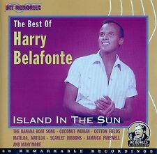 HARRY BELAFONTE : ISLAND IN THE SUN, THE BEST OF / CD - TOP-ZUSTAND