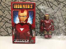 "Medicom Marvel Iron Man 2 Kubrick ""Iron Man Mark VI"""