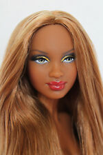 Gorgeous Aa,African American Barbie Doll, Model Muse,Basic,Nude #A12