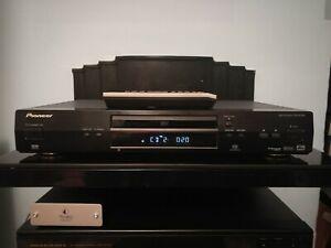 Pioneer DV-656A-K DVD/DVDA/CD player, in black, with remote