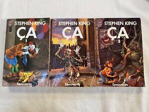 Trilogie ça - Stephen King - Années 1990