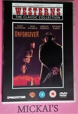 UNFORGIVEN - WESTERNS THE CLASSIC COLLECTION WTCCN08 DVD PAL CLINT EASTWOOD OOP