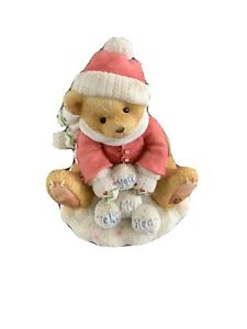 Cherished Teddies Ted Christmas Xmas Bear Teddy Ornament Winter