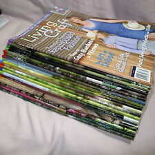 Living Crafts Magazine 2008 2009 2010 2011 2012 Winter Spring Summer Fall Lot 18