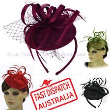 Melbourne Cup Spring Races Racing Carnival Headband Clip Hatinator Fascinator